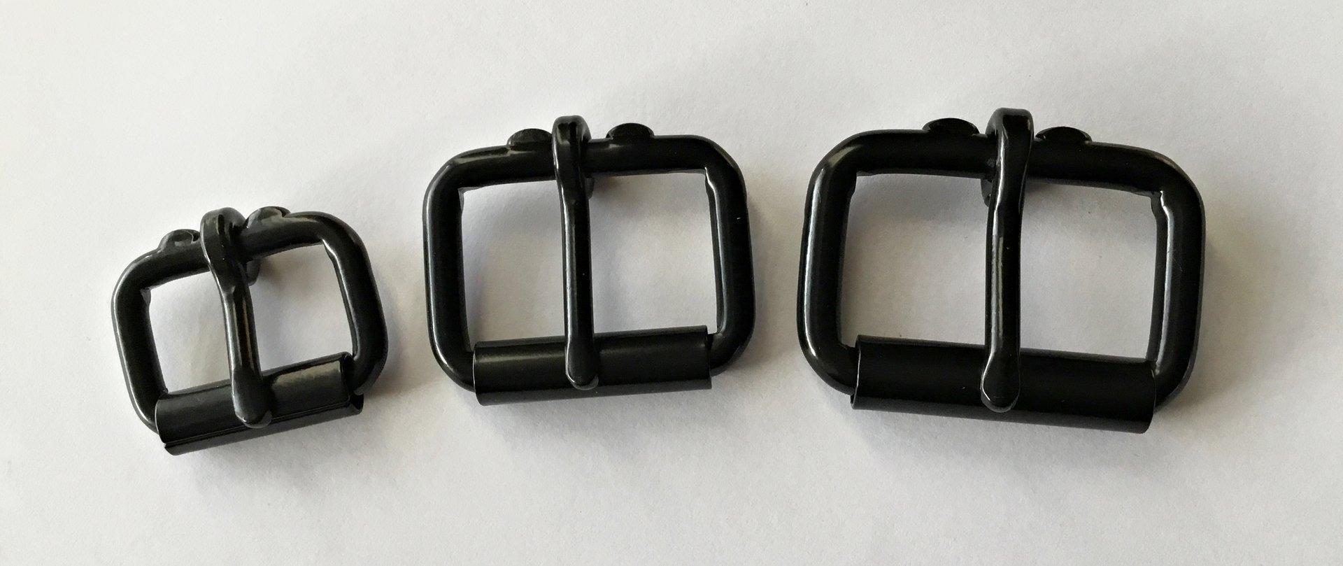 5 x Rundringe,schwarz galvanisiert 1 ca.25x4,5mm geschweißt