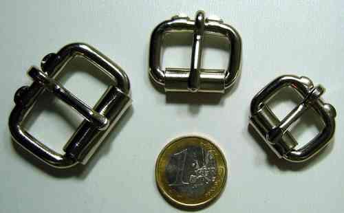 """Rollschnalle 1 /"""" ca 26mm schwarz galvanisiert"""